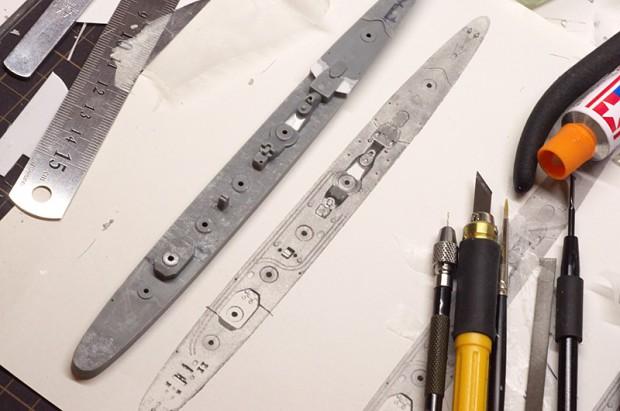 滑り止め鋼板の複製