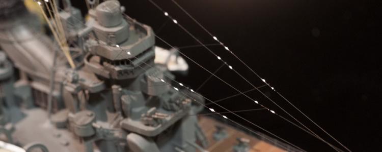 艦船模型の碍子を再現してみる