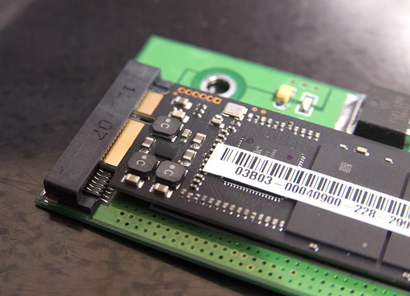 Zenbook UX31 SSD変換アダプタ