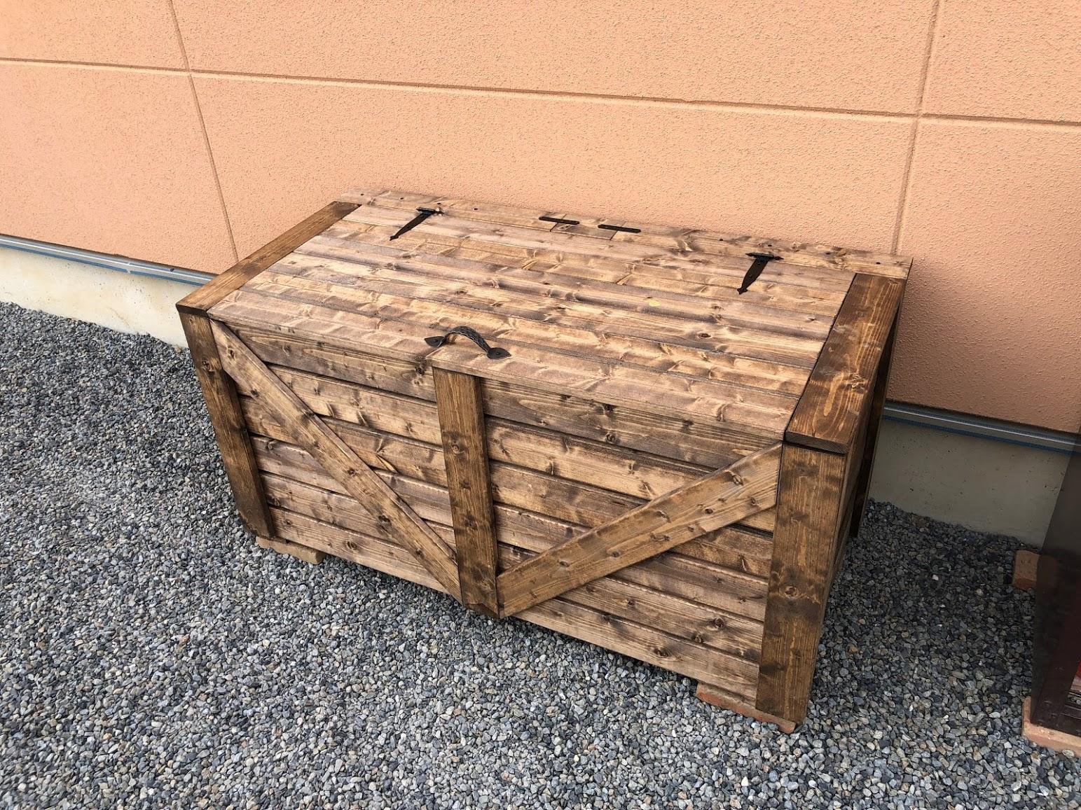 DIYなゴミ収納箱